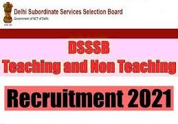 DSSSB Recruitment 2021 Apply Online | 7236 Teacher, Clerk, Patwari Vacancies