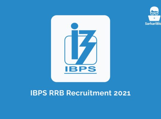 IBPS RRB Recruitment 2021, 10000+ Post Online apply @ibps.in