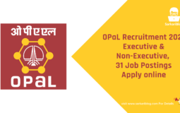 OPaL Recruitment 2021, Executive & Non-Executive, 31 Job Postings, Apply online @ www.opalindia.in