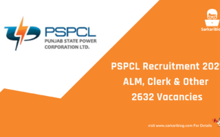 PSPCL Recruitment 2021, ALM, Clerk & Other 2632 Vacancies, Apply online @ www.pspcl.in